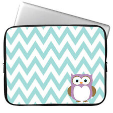 """Cute Owl Laptop Sleeve Case Bag Cover For 12.5-13.3"""" Macbook Air Pro Acer Dell"""