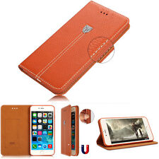 Luxury Leather Case Magnetic Flip Cover Stand Wallet  For iPhone6 4.7 Plus 5.5