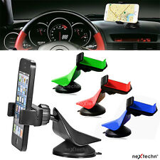 360°Car Mount Holder Windshield Bracket for Mobile Cell Phone GPS iPhone Galaxy