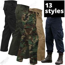Military BDU Pants Army Tactical Combat Fatigue Trousers Hunting Camping Hiking