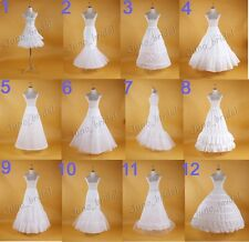 Bridal Cocktail Prom Crinoline Petticoat Underskirt Evening Dress Costume
