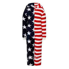 Kids USA Stars and Stripes Luxury Soft Onesie Ages 3 - 10 Years