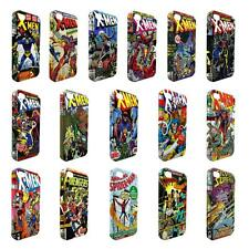 Full Wrap DC Marvel superhero comic book cover case for Apple iPhone - W2