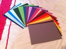 10 A5 SHEETS 240GSM CARD STOCK FREE POST 25+ COLOURS *YOU CHOOSE COLOUR*