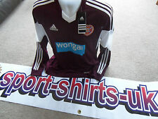 Hearts Football Shirt Adidas Home 2013/14 BNWT Long Sleeve RRP £46.99 Scotland