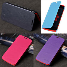 New Fashion Ultra Slim PU Leather Flip Case Cover For Lenovo Smartphones