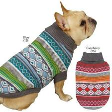 East Side Collection Northern Lights Dog Sweater Scottish Knit Pet Sweatshirt