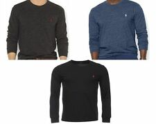 Genuine Polo Ralph Lauren Mens Small Pony Long Sleeve T-Shirt Sizes S-XXL - new