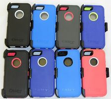NEW!! Otterbox Defender Series case for Iphone 5S with Holster Clip & Iphone 5