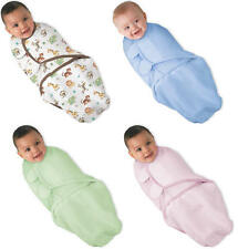 Summer Infant Swaddleme Cotton Knit Baby Born Swaddling Wrapping Blanket BNIP