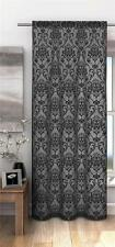 Victoria Burn-Out  Damask Pattern Voile Net Curtain Panel ***FREE P&P***