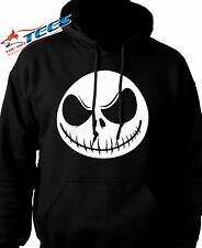 NIGHTMARE BEFORE CHRISTMAS HOODIE Sweatshirt Jack Skellington Disney B4 Xmas USA