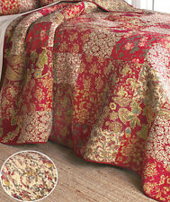 Beautiful Stratford Patchwork Full  Queen Bed Quilt Reversible Bedroom Decor New