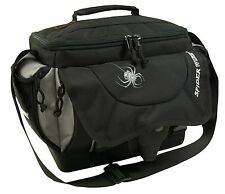 Spiderwire Black Fishing Tackle Bag Medium Utility Boxes Fresh Salt Water SPA007