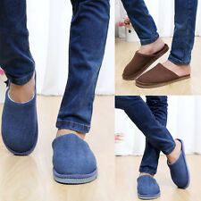 1Pair New Men Anti-slip Shoes Soft Warm Cotton House Indoor Slippers Excellent