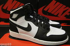 2014 Nike Air Jordan 1 I Retro High OG Black White 555088 010 GS Y Youth 4Y-7Y