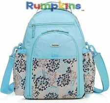 New Pretty Baby Diaper Changing Nappy Bag Backpack Tote Mummy Bag W/ Acess NWT