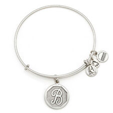 Alex and Ani Initial B Charm Bangle