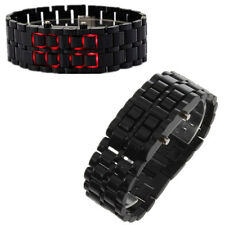 LED Digital Samurai Lava Wrist Watch Plastic Sports Style Mens Womens Unisex SY