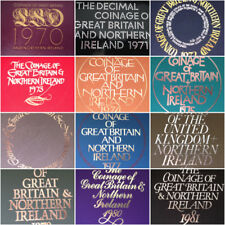 UK Proof Set Covers only from 1970 - 1982- choose your date