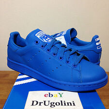 Adidas Originals x Pharrell Williams Stan Smith size 4-14 blue Solid Pack B25386