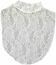 Miles Kimball Lace Turtleneck Dickie