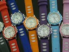 Kids Bubble Watch - Water Resistant 50m Watches 11 Colours Great for ages 7 - 17