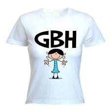 GBH WOMEN'S T-SHIRT - Great Big Hugs Text Facebook Twitter - Sizes S to XL