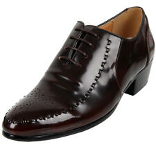New Model Leather Dress Oxfords Brown Mens Shoes