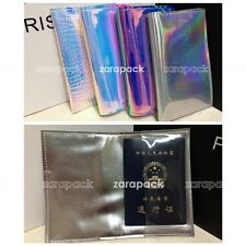 Designer Hologram Anti wrinkle Passport wallet Cover Travel ID Card Holder Gift