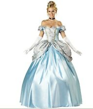 ADULT PRINCESS CINDERELLA FAIRYTALE COSTUME FANCY DRESS OUTFIT 208961 HALLOWEEN