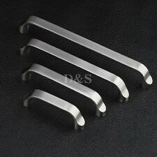 Solid Stainless Steel Brushed Kitchen Cabinet Cupboard Door Drawer Pull Handle