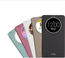 5 Colors Ultra Slim Clear Window Flip Case Cover For LG G3 D855 D850 Optimus