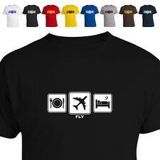 Airline Pilot Gift T Shirt Fly Daily Cycle