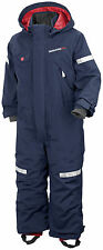 NEW - Didriksons Meru Kids Snowsuit - Navy - Ages 1 year - 7 years