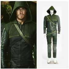 Green Arrow Oliver final fantasy Women Cosplay Costume theater reenactment men