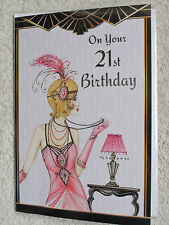21 today card~coming of age card~female relations card~birthday cards~cards~