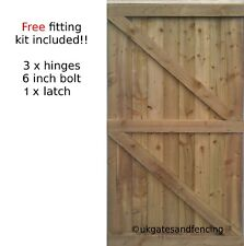 Wooden Garden Side Gate Featheredge Gate Bespoke Gates Wooden Gate Heavy Duty