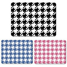 HOUNDSTOOTH HOUNDS TOOTH DOGSTOOTH COMPUTER PC MOUSEPAD MOUSEMAT MOUSE MAT PAD