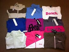 Bench Ladies Hoodies Hoody Sweat Top Jackets Blue Pink White  XS S M L XL BNWT