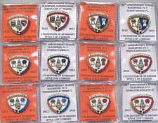 BLACKPOOL FOOTBALL CLUB FC BADGE PINS 2012 - 2013. Individual Sale.