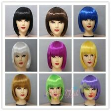 Student Hair Style BOB Haircut Mannequin BoBo Short Wig Costume Party Xmas Wigs