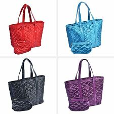 Sachi Day-To-Nite Insulated Tote with Accessory Wristlet