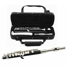 New Brass C Piccolo Musical Instruments Silver Or Golden Plated With Case