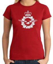 T-Shirt military donna DTM0019 RCAF Royal Canadian Air Force Per ardua ad astra