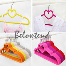 Space Saving Non-Slip Velvet Clothes Hanger Coat Velvet Hangers Housewarming