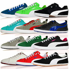 New Mens Puma  Classic Future Suede Lite Canvas Trainers  Shoes Laces SizeUK3-12
