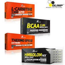 L-Carnitine + BCAA + Thermo Speed Extreme + HMBolon 120/240 Caps Weight Loss
