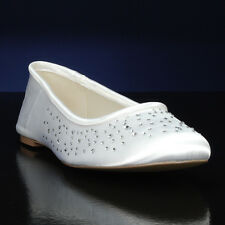 "Pink ""Bubbles"" Ivory Flats"
