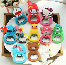 Charms Cute Beer Bottle Opener Kitchen Tool Fridge Magnet Ornaments Decorations